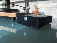 The WTL Phono Stage with  Well Tempered turtable @totallywirednz