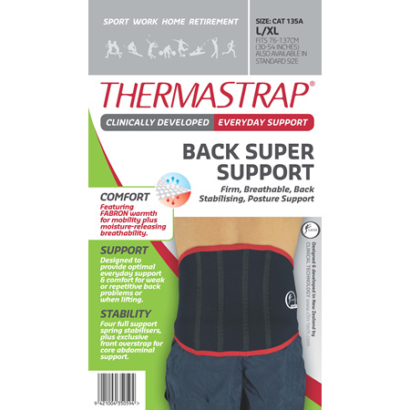 Thermastrap Back Super Supp Lge/Xl