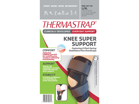 Thermastrap Knee Super Supp Lge/Xl