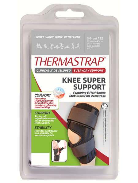 Thermastrap Knee Super Supp Sml/Med