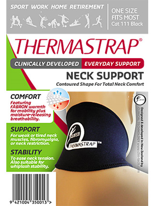 Thermastrap Neck Blk Osfm