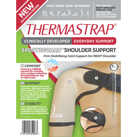Thermastrap Sportsguard Shldr Med-Right