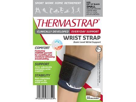 Thermastrap Wrist Strap Blk Small