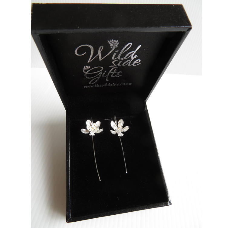These sterling silver earrings come in a lovely jewellery box.