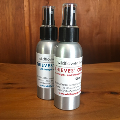Thieves' Oil Spray (environment)
