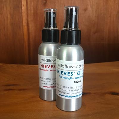 Thieves' Oil Spray - skin safe