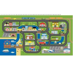 Things That Go By Playmat Panel Y3032-55