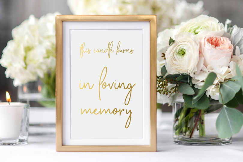 Personalised wedding signs nz