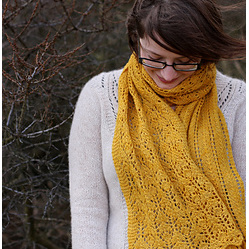 Thistle Scarf by Tin Can Knits - Pattern