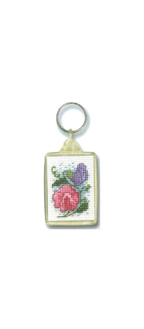 THKRSP   Key Ring - Sweet Pea