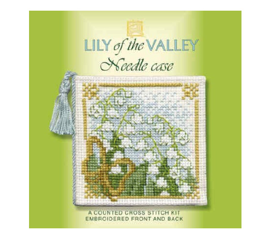 THNCLV   Lily of the Valley - Needlecase