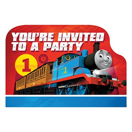 Thomas All Aboard Invitations You're Invited