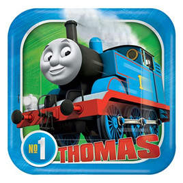 Thomas All Aboard Luncheon Plates Square