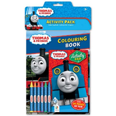 Thomas & Friends Activity Pack Crayons