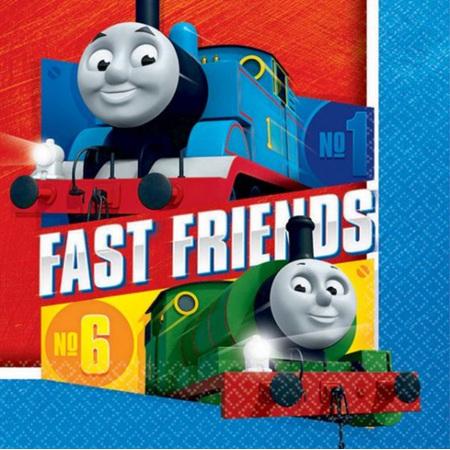 Thomas & Friends Lunch Napkins x 16