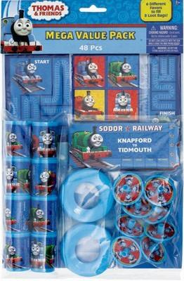 Thomas the Tank Engine 48 piece Favour Pack