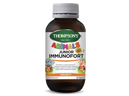 Thompsons Junior Immunofort 90 Tablets