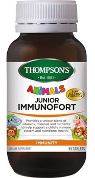 Thompson's Junior Immunofort Tablets 45s