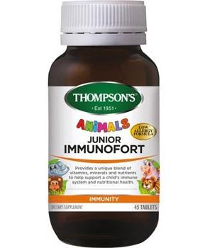 Thompson's Junior Immunofort Tablets 45s