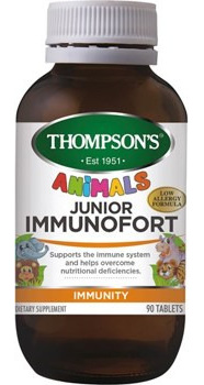 Thompson's Junior Immunofort Tablets 90s