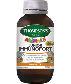 Thompson's Junior Immunofort Tablets 90s