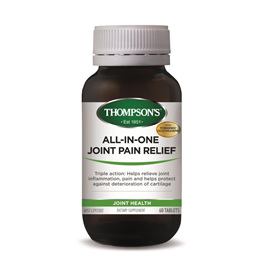 Thompsons Nutrition AllInOne Joint Pain Relief Tablets  60 tablets