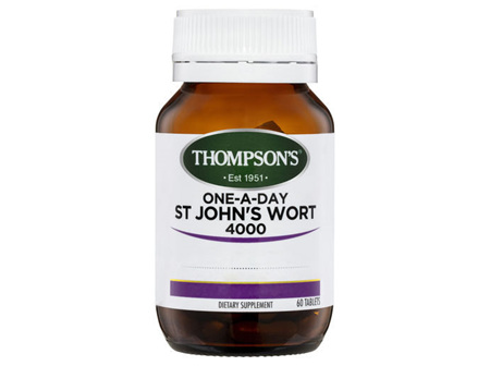 Thompson's One-a-day St John's Wort 4000mg 30 Tabs