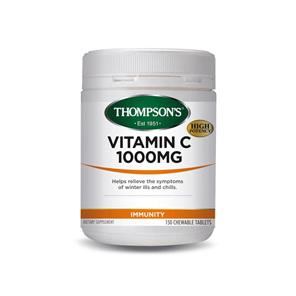 Thompson's Vitamin C 1000mg 150 Chewable Tablets