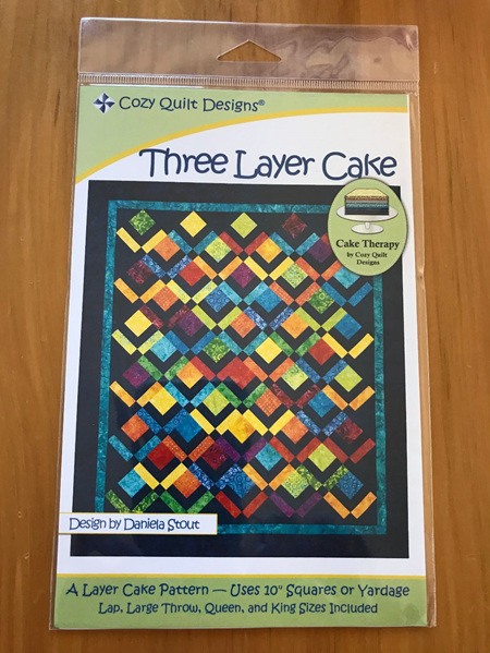 Three Layer Cake Quilt Pattern