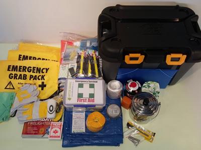 Three Person Comprehensive Emergency Kit