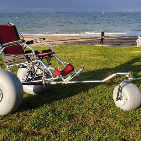 Three Wheel Beach Wheelchair Hire