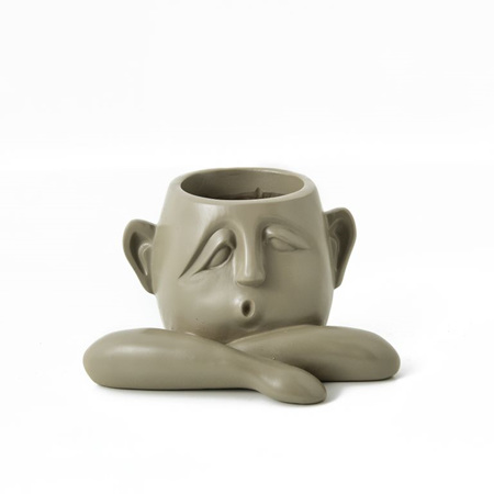 Three's  Company Face Planter - The Beige One