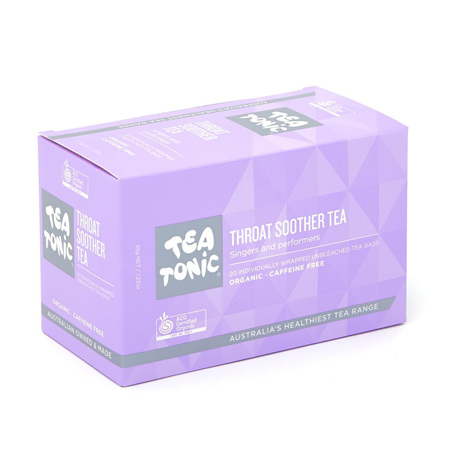 THROAT SOOTHER TEA 20 BAGS