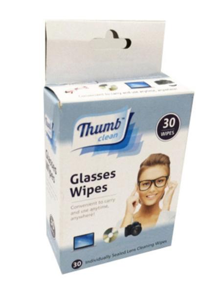 Thumb Clean Glasses Wipes