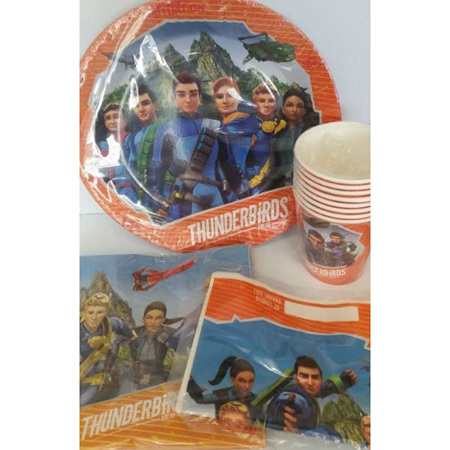 Thunderbirds 40 piece pack
