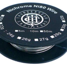 Thunderhead Creations - Nichrome Ni80 Wire - 10m Spool