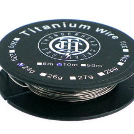 Thunderhead Creations - Titanium Wire - 10m Spool