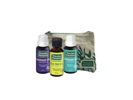 Thursday Plantation Trio Essential Oils Gift Pack 3x9ml