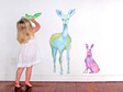 Tia and the forest keepers wall mural