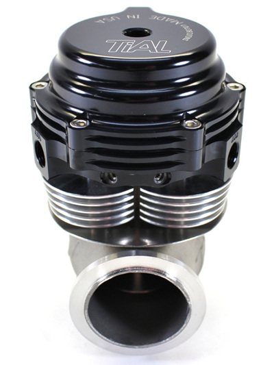 Tial 38mm MVS-A V-Band Wastegate - Black