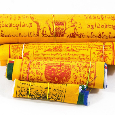 Tibetan Prayer Flags - Cotton 10 set