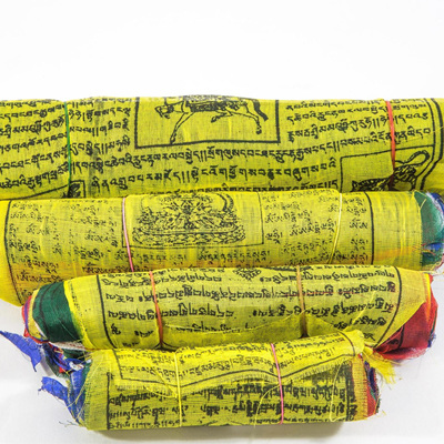 Tibetan Prayer Flags - Rayon 25 set