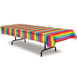Tie Dye Party Table Cover