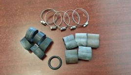 Tie-in Kit for Bagpipe Bags with Grommets