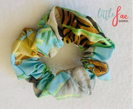 Tiger & Friends Scrunchie