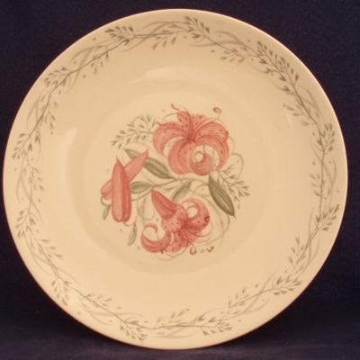Tiger Lily plates