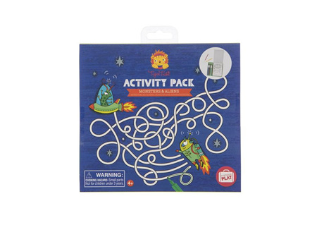 Tiger Tribe Activity Pack Monsters & Alien