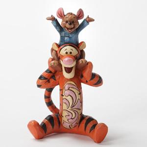 Tigger & Roo Bestest Pals - Jim Shore Ornament