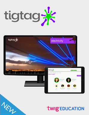 Tigtag - buy online from Edify