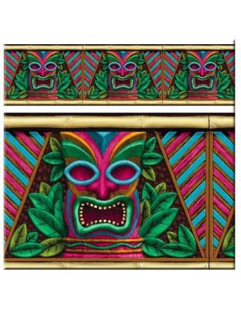 Tiki Scene Setter Border Roll